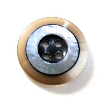 Rocky(ロッキー)ColorNo.6 (20mm・15mm)紳士服ボタンスーツ・ジャケット用ボタン