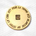 メタルボタンFM-26ゴールド(20mm・15mm) 紳士服スーツジャケット用ボタン