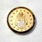メタルボタンFM-82ゴールド(20mm・15mm) 紳士服スーツジャケット用ボタン