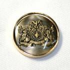 メタルボタンDM-0823ゴールド(20mm・15mm) 紳士服スーツジャケット用ボタン
