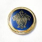 メタルボタンY-50ゴールド(20mm・15mm) 紳士服スーツジャケット用ボタン