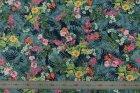 8224(カラー1012)プリント裏地(ユーロデザインシリーズ・アマゾンリーフ)ボタニカル柄裏地