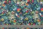 8226(カラー1005)プリント裏地(ユーロデザインシリーズ・ラウメール)ボタニカル柄裏地