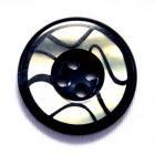 BUNFF(バンフ) ColorNo.1 (20mm・15mm) 紳士服スーツジャケット用ボタン