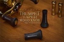 TRUMPET TAPER WOOD KNOB