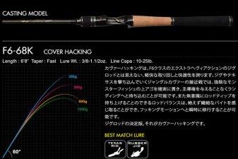 メガバス (Megabass)<br>OROCHI XXX (オロチ カイザ)<br>F6-68K COVER HACKING