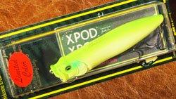 XPOD Jr (SP-C) ライムチャート