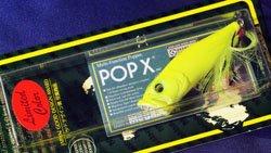 中央漁具 新社屋完成記念 POP-X GLX チャート