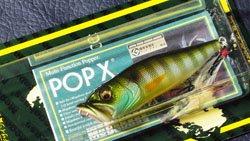 魚矢逆輸入 POP-X (USA) GILL