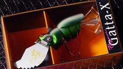 25th 極 & windyside ロゴペイントNEW GATTA-X (タービュランス) タマムシ