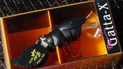 25th 極 & windyside ロゴペイントNEW GATTA-X (タービュランス) ヒラタクワガタ