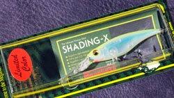 メガバス (Megabass)<br>SHADING-X (シャッディングエックス)<br>(SP-C マエストロ・カスタム・カラー) T シークレットチャートバック