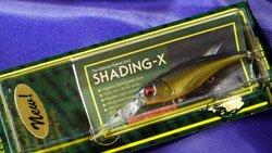 メガバス (Megabass)<br>SHADING-X (シャッディングエックス)<br>M IL シャンパンゴールド