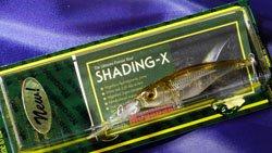 メガバス (Megabass)<br>SHADING-X (シャッディングエックス)<br>プラチナムワカサギ