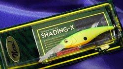 メガバス (Megabass)<br>SHADING-X (シャッディングエックス)<br>マットチャートライム