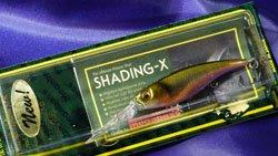 メガバス (Megabass)<br>SHADING-X (シャッディングエックス)<br>和銀 オイカワ(M)