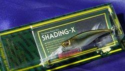 メガバス (Megabass)<br>SHADING-X (シャッディングエックス)<br>和銀 ホンモロコ
