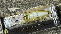 メガバス (Megabass)<br>SPINDRIVE 58 SHRIMP DRIVE DSF (スピンドライブ 58 シュリンプドライブ デッドスローフローティング)<br>シラサエビ