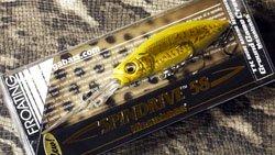 メガバス (Megabass)<br>SPINDRIVE 58 F (スピンドライブ 58 フローティング)<br>GG ゴールデンチャートバス