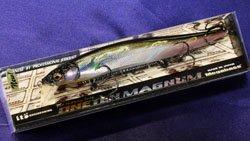 メガバス (Megabass)<br>VISION 110 MAGNUM FLOATING (ビジョン ワンテン マグナム フローティング)<br>GG シルバーシャッド