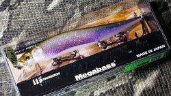 メガバス (Megabass)<br>VISION 110 Jr. (ビジョン ワンテン ジュニア)<br>GLX スケルトンワカサギ