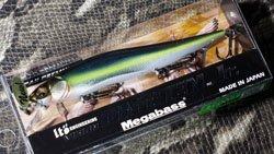 メガバス (Megabass)<br>VISION 110 Jr. (ビジョン ワンテン ジュニア)<br>MG セクシーストリーム