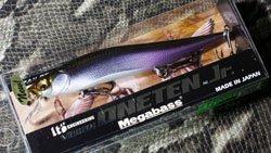 メガバス (Megabass)<br>VISION 110 Jr. (ビジョン ワンテン ジュニア)<br>MG ワカサギ�