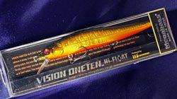 メガバス (Megabass)<br>VISION 110 HF (ビジョン ワンテン ハイフロート)<br>GG ジャバラキンクロ