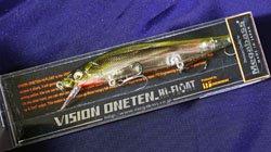 メガバス (Megabass)<br>VISION 110 HF (ビジョン ワンテン ハイフロート)<br>ステルスベイト