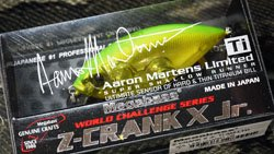 Z-CRANK X Jr.Ti AM-LTD AMLライムチャートOB
