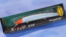 X-120 SW (バチ抜けカスタム) PM ムーンレッドヘッド