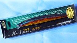X-120 SW (バチ抜けカスタム) プロブルーブラッド