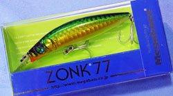 ZONK77 GG ゴールデンライム