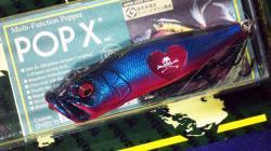 2012 windyside x Megabass コラボレーション POP-X  【クイーン・ドクロ】