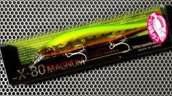 X-80 MAGNUM (ヒラメ・カラー) GG ヒラメライムゴールド