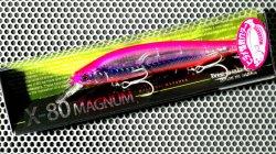 X-80 MAGNUM (ヒラメ・カラー) HT ヒラメピンクイワシ