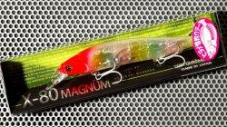 X-80 MAGNUM (ヒラメ・カラー) GLX キャンディーレッドヘッド