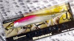 Megabass(メガバス) 中央漁具限定 (SP-C) ONETEN Jr. (ワンテンジュニア) HT 桜 ワカサギ