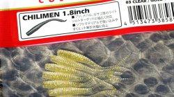 メガバス (Megabass) チリメン (CHILIMEN) 1.8inch クリアゴールドフレーク