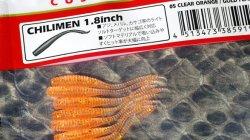 メガバス (Megabass) チリメン (CHILIMEN) 1.8inch クリアオレンジゴールドフレーク