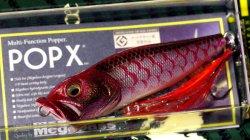 メガバス (Megabass)<br>POPX (ポップエックス)<br>(SP-C) GLX レッドカープ