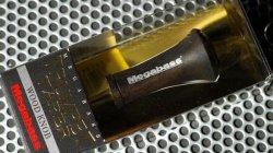 メガバス (Megabass)<br>TRUMPET TAPER WOOD KNOB (トランペットテーパーウッドノブ)<br>黒檀