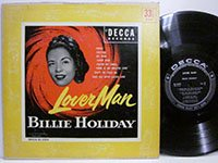 <b>Billie Holiday / Lover Man dl5345</b>