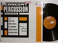 <b>John Cage - Paul Price / Concert Percussion for Orchestra</b>