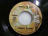 <b>Freddy Wilson / Promised Land - Where is She</b>