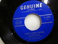 <b>Willie Smith / I Got A New Thing - inst</b>