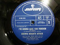 <b>Crown Heights Affair / Im Gonna Love You Forever - Say A Prayer For Two</b>