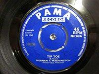<b>Norman T Washington/ Tip Toe - Don't Hang Around</b>