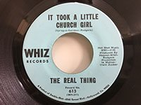 Real Thing / International Love Song - It Took A Little Church Girl