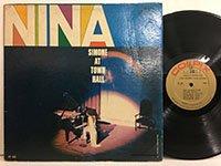 Nina Simone / at Town Hall Cp409